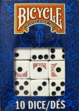 Bicycle Dice 10 Die Package (4-Pack)