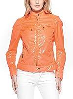 Brema Chaqueta 307 I W/M Logo (Naranja Flúor)