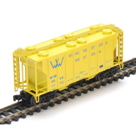 Athearn N Rtr Ps-2 2600 Covered Hopper Ww 4024