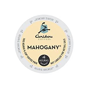 Caribou Coffee Mahogany, K-Cups for Keurig Brewers, 96-Count