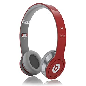 Monster Beats Solo HD (PRODUCT)RED Headphones with ControlTalk