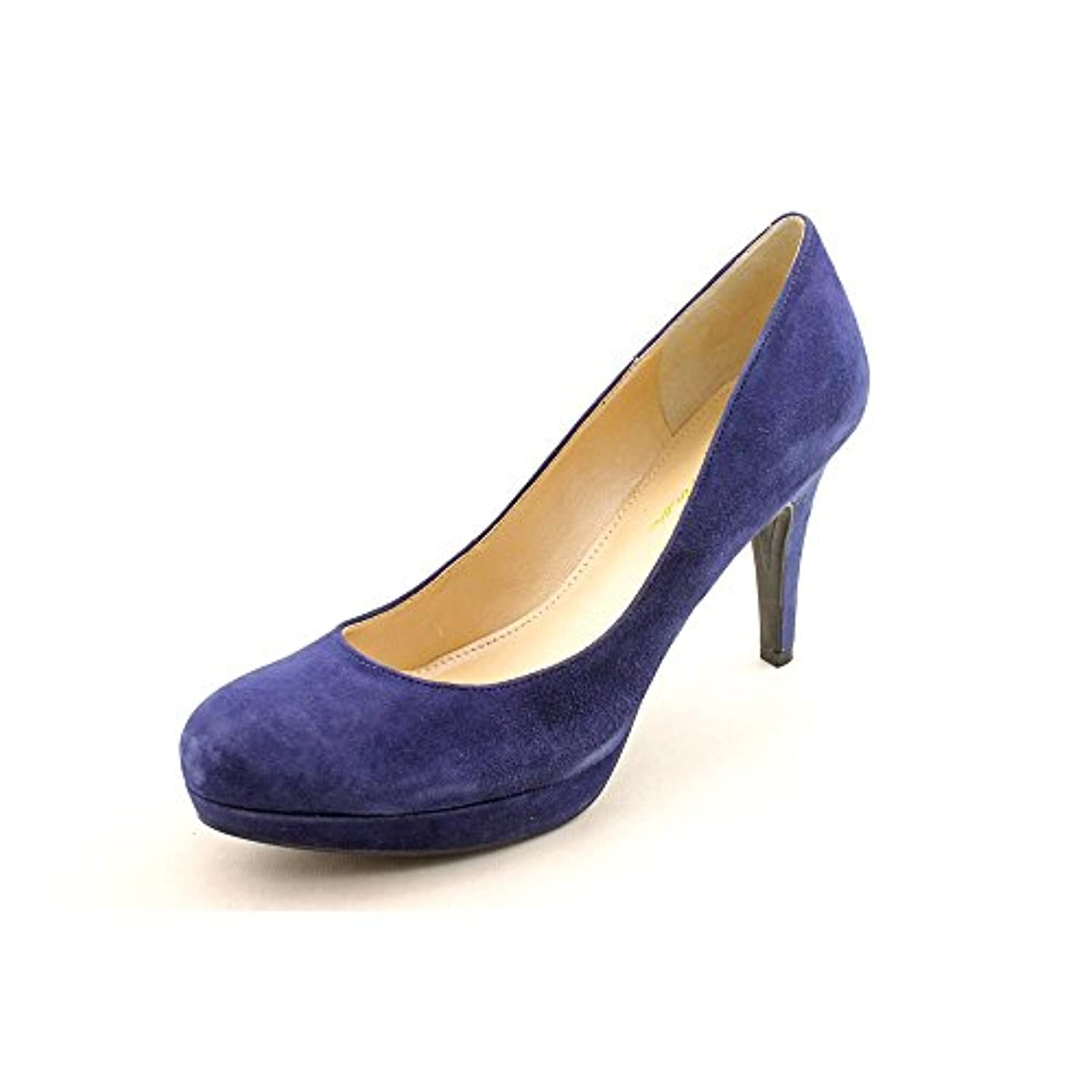 % suede PUMPS GEDEBE, SUEDE %, color LIGHT BLUE, Heel mm, Leather sole, FW17, product code 71SDCELES Ships from and sold by a Bluefly Marketplace Partner.