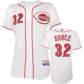 Jay Bruce Cincinnati Reds Home Authentic Onfield Cool Base Jersey