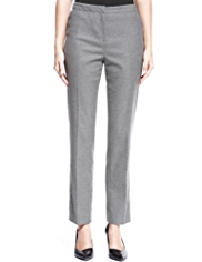 Autograph Pinstriped Trousers with Wool