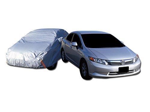 4700MM 4 LAYER WATERPROOF ANTI UV RAIN SNOW RESISTANT CAR COVER+MIRROR POCKET C1 (92 Mazda Miata Cover compare prices)