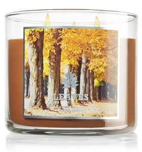 Bath and Body Works 14.5 Oz 3-wick Candle Leaves