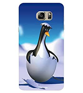 ColourCraft Funny Cartoon Design Back Case Cover for SAMSUNG GALAXY NOTE 6