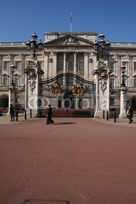 """Wallmonkeys Peel and Stick Wall Decals - Palais De Buckingham, Londres - 24""""H x 16""""W Removable Graphic"""