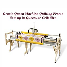 Grace Gracie Queen Machine Quilting Frame, Bungee Clamps Included