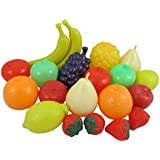 Life Sized Bag of Fruits Play Food Playset for Kids