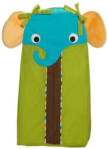 Zutano Elephants Diaper Stacker