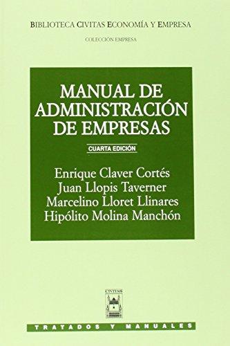 MANUAL DE ADMINISTRACION DE EMPRESAS