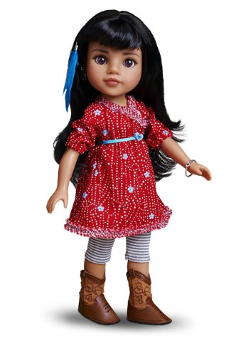 Hearts for Hearts Girls Mosi American Indian Doll (World Vision Dolls compare prices)