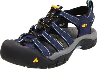 fc718fbb66b075 新低)Keen Women s Newport H2 Sandal 女士运动凉鞋 66.2 黄绿色