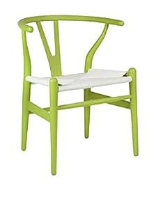 Superstudio fer color edition silla madera verde y - Superstudio muebles ...