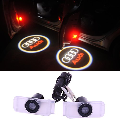Sunsbell For Audi Car Door Projection Led Welcome Light Ghost Light Shadow Light