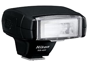 Nikon SB-400 AF Speedlight Flash for Nikon Digital SLR Cameras