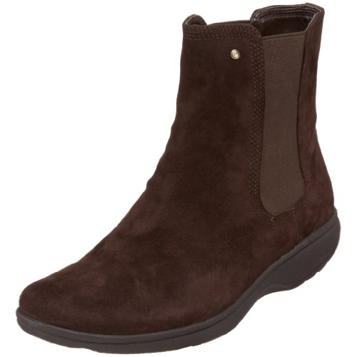 Rockport Women's Tyler Chelsea Dark Brown Suede Ankle Boots K54870 5 UK