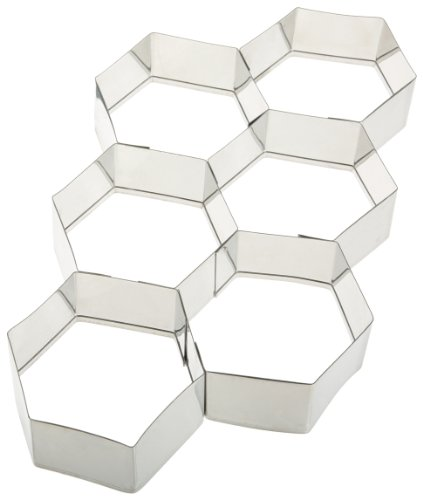 Ateco Stainless Steel Hexagon Cutter (Ateco 6 Cutters compare prices)
