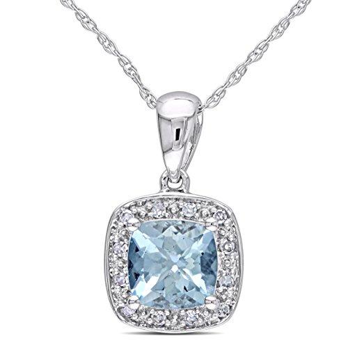 10k-white-gold-aquamarine-and-diamond-necklace