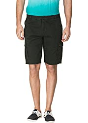 Travellers Essential Olive Cargo Shorts(12040705601)