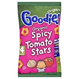 Organix Goodies Organic Spicy Tomato Stars 4 Pack x 15G