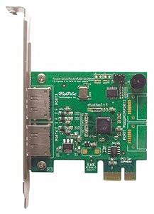 HighPoint RocketRAID 622 2 eSATA Port PCI-Express 2.0 x1 SATA 6Gb/s RAID Controller