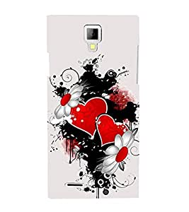 EPICCASE connecting hearts Mobile Back Case Cover For Micromax Canvas Xpress A99 (Designer Case)