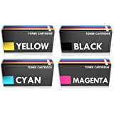Prestige Cartridge C540 Toner Cartridges for Lexmark X544dn/X544dtn/X544n - Assorted Colour (Pack of 4)