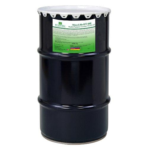 Renewable Lubricants Maxxlife Ht 600 High Temperature Nlgi 2 Multipurpose Grease, 120 Lbs Keg