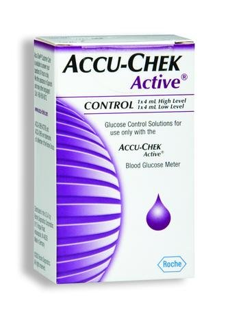 Cheap ACCU-CHEK® Active Glucose Control Solution (Program: High / Low) (B000O5YY6W)