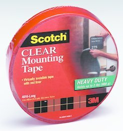 12PK 3M 4010 Scotch Mount Heavy Duty Perm Tape 1x6