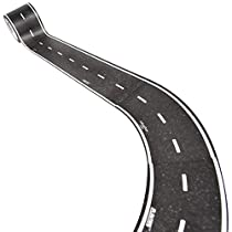 Inroad Toys Play Tape Classic Road Series - Curved Section Road Tape (Set of 4), 2