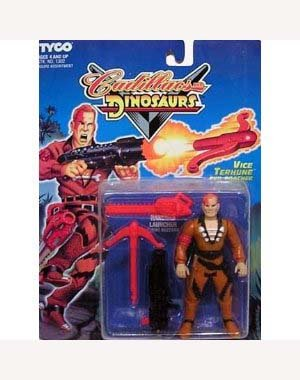 Cadillacs and Dinosaurs Vice Terhune Evil Poacher Action Figure - 1