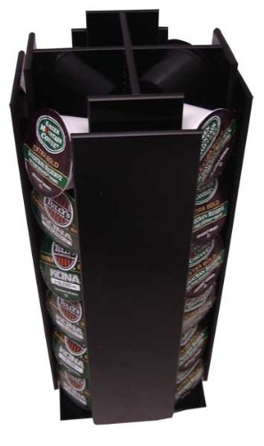 4 Sleeve K cup Coffee Pod Holder - Holds 24 K-Cups