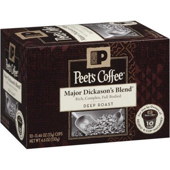 Peet'S Coffee Major Dickason Blend Single Cup Coffee For Keurig K-Cup Brewers 10 Count (Pack Of 4) front-7789