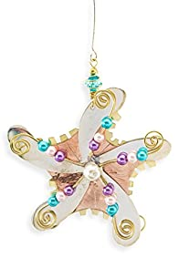 Pilgrim Imports Starfish Fair Trade Ornament