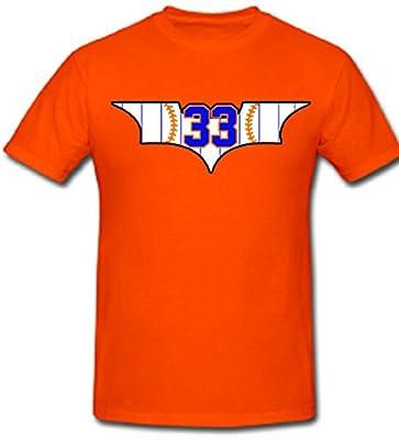 """Matt Harvey New York Mets """"Dark Knight Rises"""" T-Shirt"""