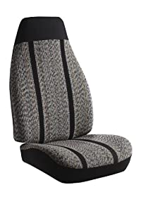 FIA TR43-2 GRAY Gray Universal Fit Car Bucket Seat Cover from FIA