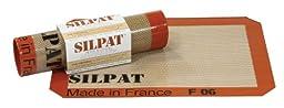 Silpat AE295205-01 Premium Non-Stick Silicone Baking Mat, 8-1/4'' x 11-3/4''