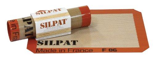 Silpat AE295205-01 Premium Non-Stick Silicone Baking Mat, 8-1/4