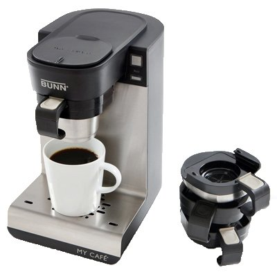 Bunn-O-Matic MCU My Cafe Single-Cup Brewer, 4