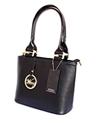 Designer Branded Faux Leather Ladies Handbag Shoulder Bag Satchel - B00VA6FKG2