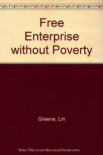 Free Enterprise Without Poverty
