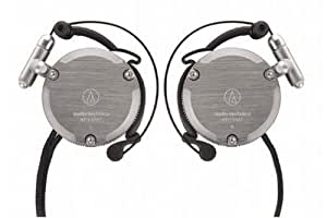 Audio-Technica ATH-EM7 GM Adjustable Aluminum Clip-On Headphones (Discontinued by Manufacturer)