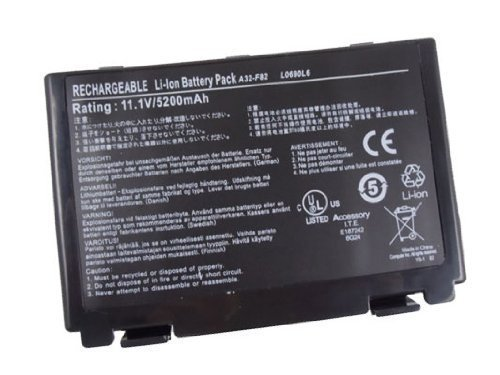 eTrade Power�Laptop Battery Replacement for ASUS K70IJ K70IO P50 P81 X50 X5C, Battery Ingredient Number LU17-GN-140110
