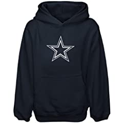Dallas Cowboys Navy Blue Star Logo Hooded Sweatshirt Adult Size Medium NFL Authentic... by Dallas Cowboys Authentic Apparel