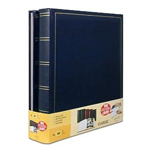 Lot de 2 albums traditionnels jumbo 100 pages pour 500 photos 10x15 - Bleu 41WmpvzZz-L._SL500_AA300_