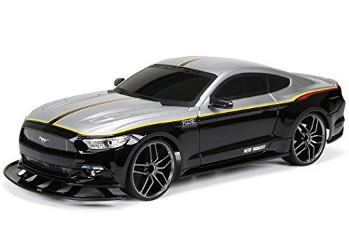 New Bright R/C F/F Foose Mustang includes 6.4V Power Pack, Batteries and Charger (1:10 Scale) (Mustang Battery Car compare prices)