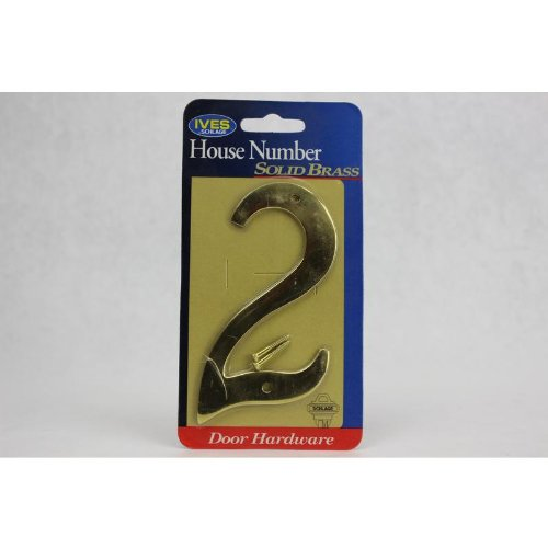 Hb Ives 4In #2 Tradition House Number C2-3024-6052 front-41583
